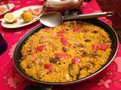 Paella Rice Dish